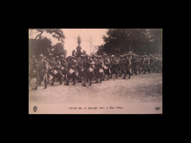 Revue du 14 juillet 1917 – nos Poilus
