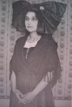 Emilie Sibaud en alsacienne - 1921