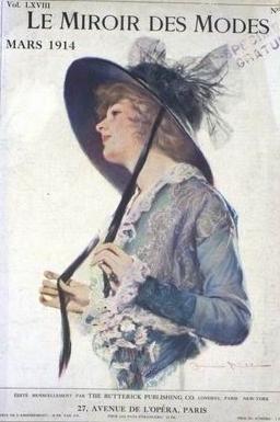 Le miroir des modes 1914 lettres oubli es de 14 18 for Miroir des modes value